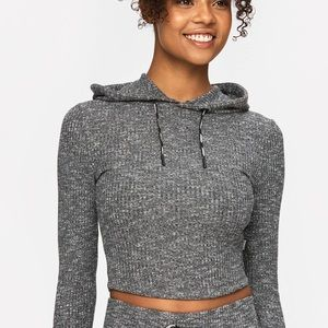 Stronger Cush cropped hoodie size medium